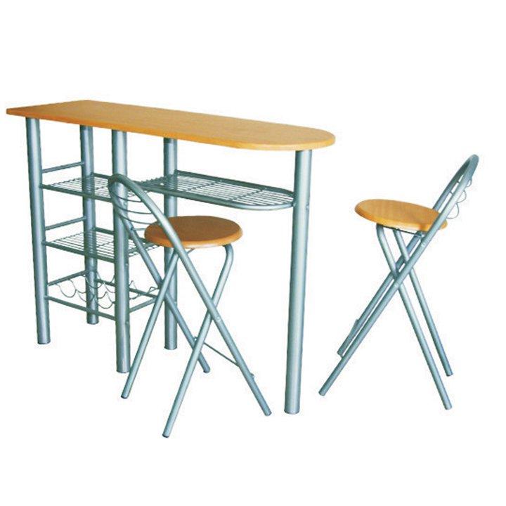 Kondela BOXER, barové stoličky + barový pult