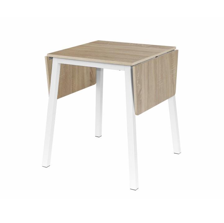 59160678f4e4d Popis tovaru. Jedálenský stôl, MAURO, dub sonoma/biela, rozkladací