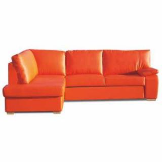 GABRIELE: Ek05 oranžová): rohová sedacia súprava : Ľavá