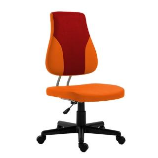 62da6d2d12cfa Detská rastúca stolička, RANDAL, oranžová/červená empty